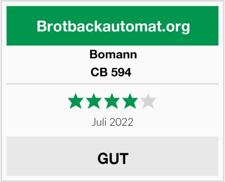 Bomann CB 594  Test