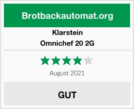 Klarstein Omnichef 20 2G Test