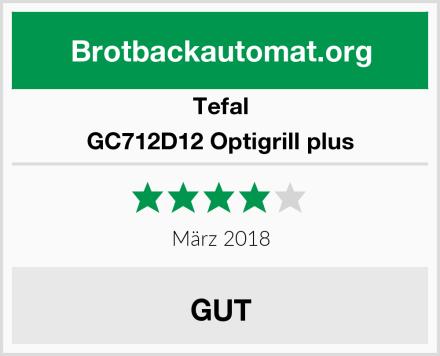 Tefal GC712D12 Optigrill plus Test