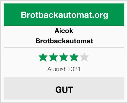 Aicok Brotbackautomat Test