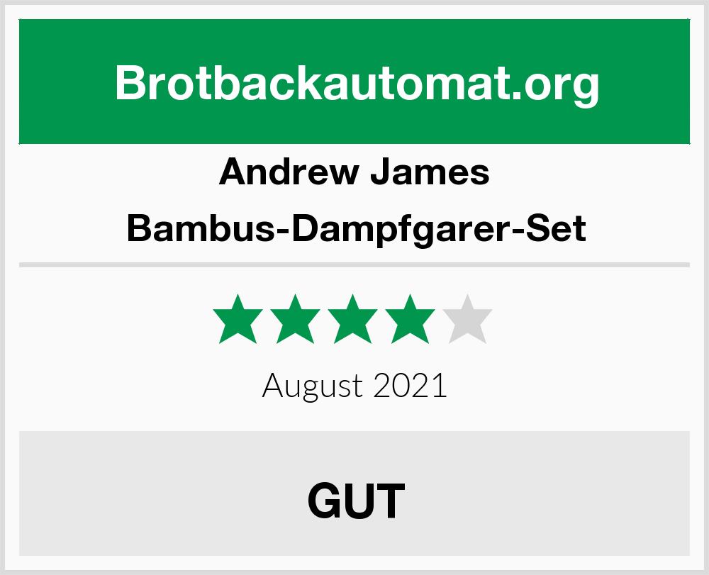 Andrew James Bambus Dampfgarer Set Brotbackautomat Test 2018 2019