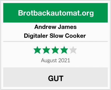 Andrew James Digitaler Slow Cooker  Test
