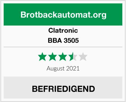 Clatronic BBA 3505 Test