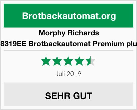 Morphy Richards 48319EE Brotbackautomat Premium plus Test