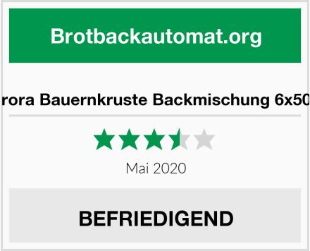 no name Aurora Bauernkruste Backmischung 6x500g Test