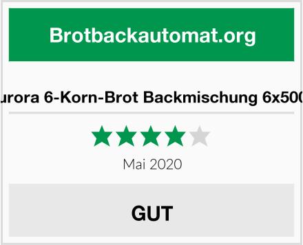 Aurora 6-Korn-Brot Backmischung 6x500g Test