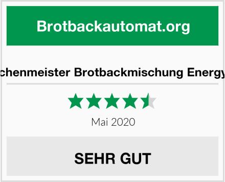 Bielmeier - Küchenmeister Brotbackmischung Energy: Wellnessbrot Test