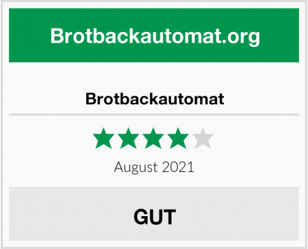 Brotbackautomat Test