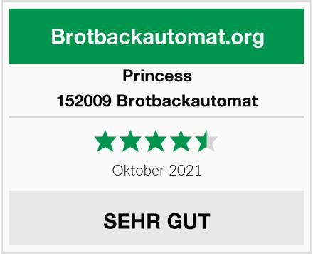 Princess 152009 Brotbackautomat Test