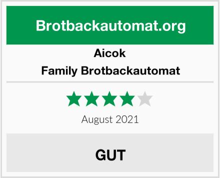 Aicok Family Brotbackautomat Test