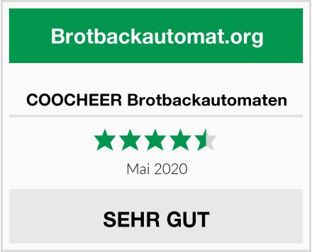 COOCHEER Brotbackautomaten Test