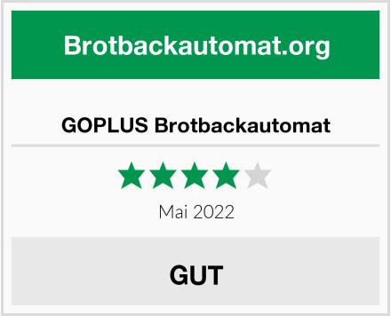 GOPLUS Brotbackautomat Test