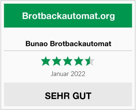 Bunao Brotbackautomat Test