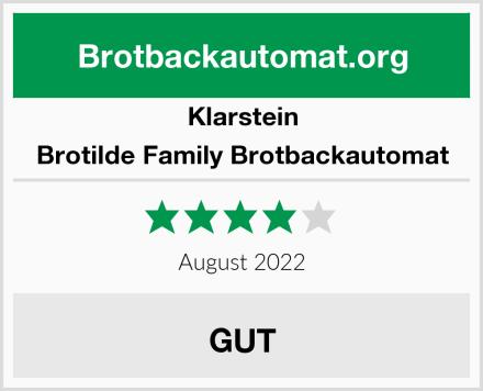 Klarstein Brotilde Family Brotbackautomat Test