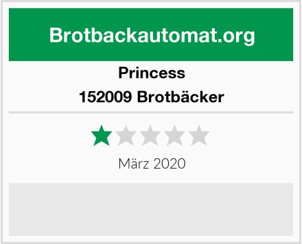 Princess 152009 Brotbäcker Test