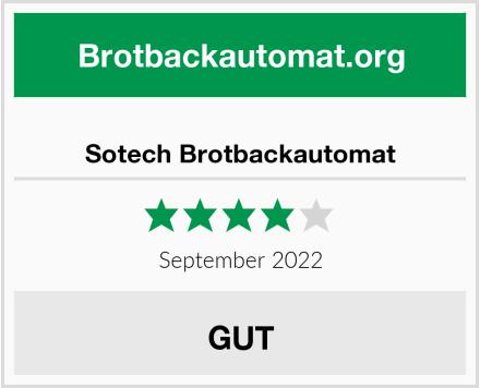 Sotech Brotbackautomat Test