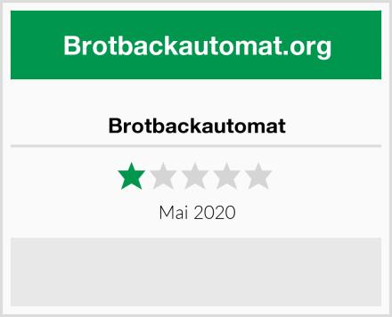 Brotbackautomat Test