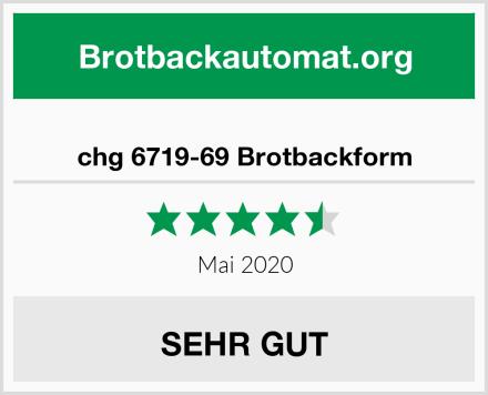 chg 6719-69 Brotbackform Test