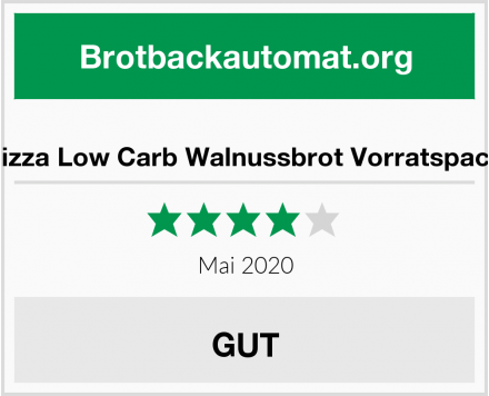 Lizza Low Carb Walnussbrot Vorratspack Test