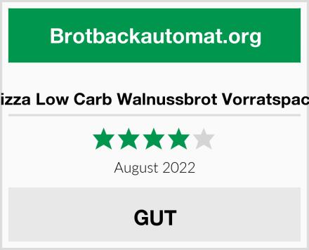 Lizza Low Carb Walnussbrot Vorratspack Test