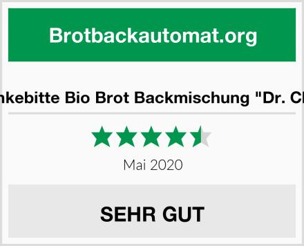 "Dankebitte Bio Brot Backmischung ""Dr. Chia"" Test"