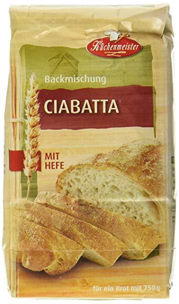 Bielmeier Küchenmeister Brotbackmischung Ciabatta