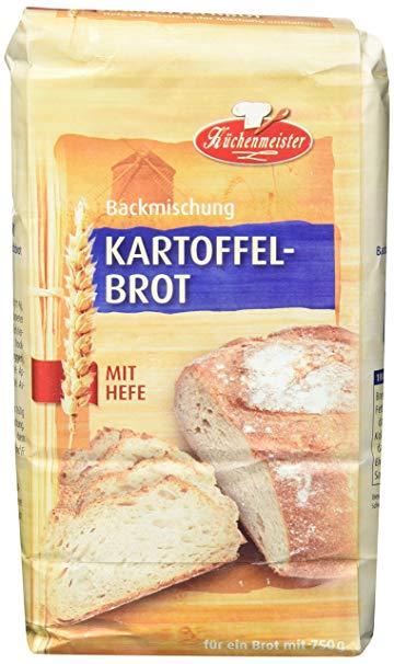 Bielmeier Küchenmeister Brotbackmischung Kartoffelbrot