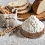 Verschiedene Getreide-Sorten zum Brot backen