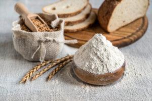 Verschiedene Getreide-Sorten zum Brotbacken
