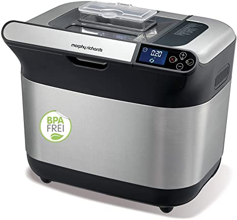 Morphy Richards Weiß 502000EE Premium Plus Brotbackautomat