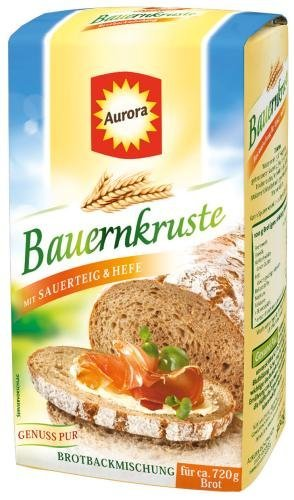 no name Aurora Bauernkruste Backmischung 6x500g