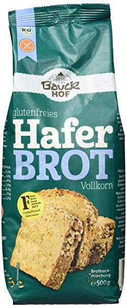 no name Bauckhof Bio Haferbrot glutenfrei