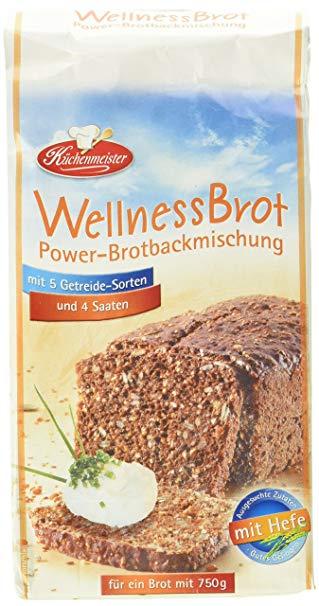 Bielmeier - Küchenmeister Brotbackmischung Energy: Wellnessbrot