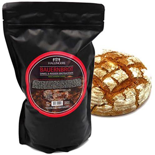 Hallingers Genuss Manufaktur Natürliche Brotbackmischung