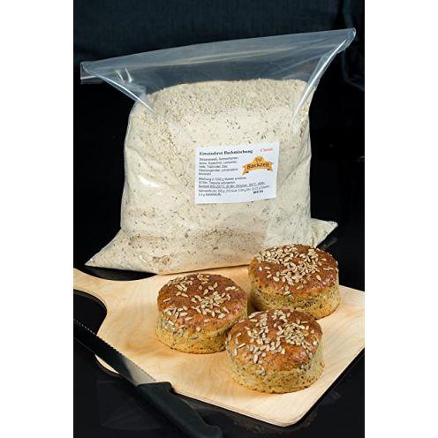Backzeit Eiweissbrot Backmischung 5kg