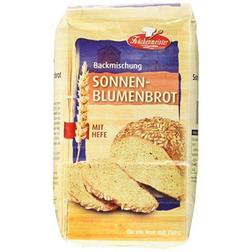 Bielmeier-Küchenmeister Brotbackmischung Sonnenblumenbrot