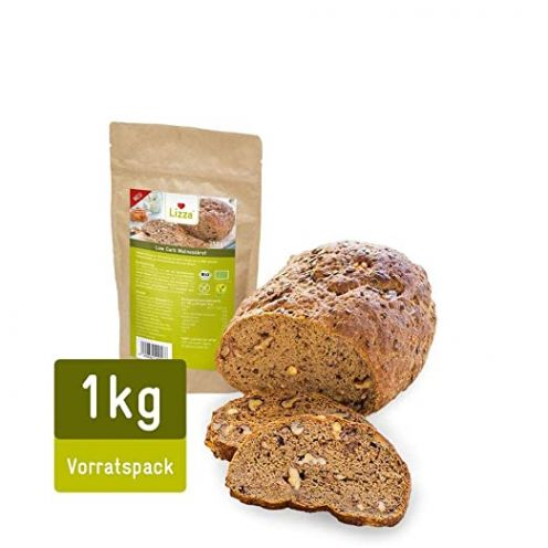 Lizza Low Carb Walnussbrot Vorratspack