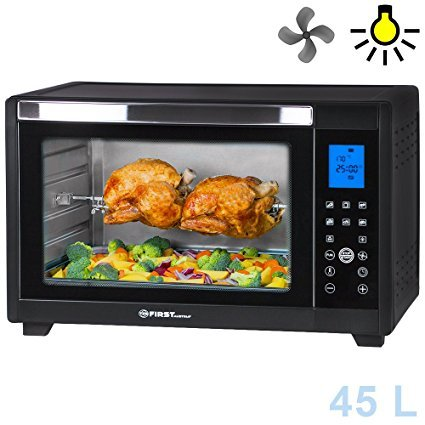 TZS First Austria Digitaler Mini Backofen